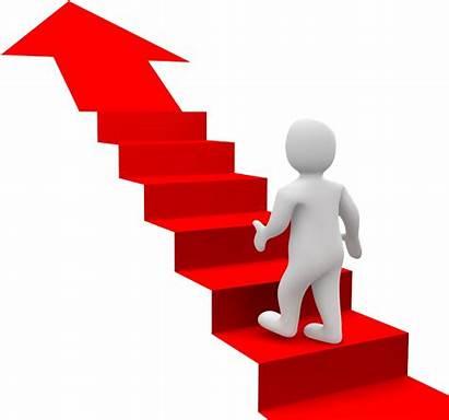 Stairs Transparent Clipart Goal Success Stair Climbing