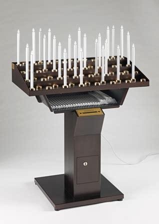 candelieri votivi candeliere votivo elettrico gestuale 33 punti luce