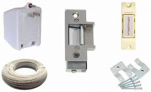 lee 14c electric strike door lock kit extra small 50ft With buzz in door lock