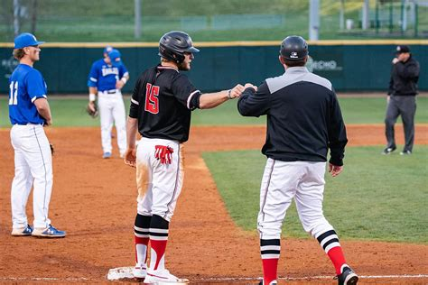 Aaron Campbell Hits Two Homers Power Apsu Baseball