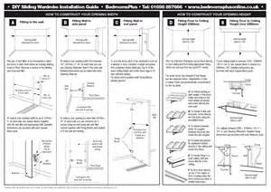 Mirror Closet Door Track by Spacepro Stanley Sliding Wardrobe Doors Spare Parts And