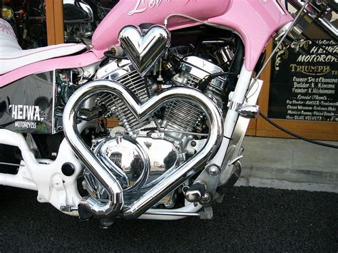 Love The Heart Shape Exhaust Pipes