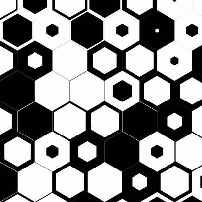 Hexagon Tattoo Animated Pattern Gifs Trippy Geometric