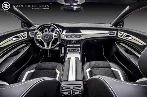 Mercedes Cls White Pearl By Carlex Design