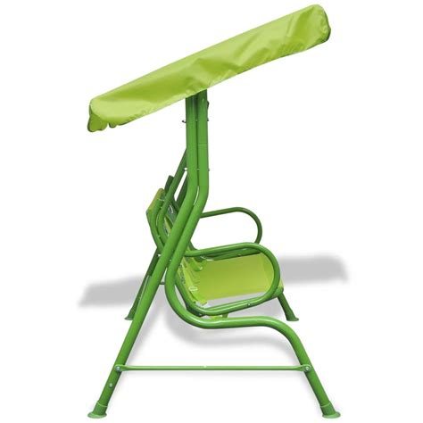 siege balancoire acheter vidaxl siège balançoire pour enfants vert pas cher vidaxl fr