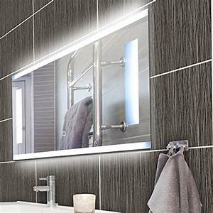 Einfacher Spiegel Ohne Rahmen : krollmann badspiegel rahmenlos led spiegel aus kristallglas mit beleuchtung 80 x 40 cm spiegel ~ Bigdaddyawards.com Haus und Dekorationen