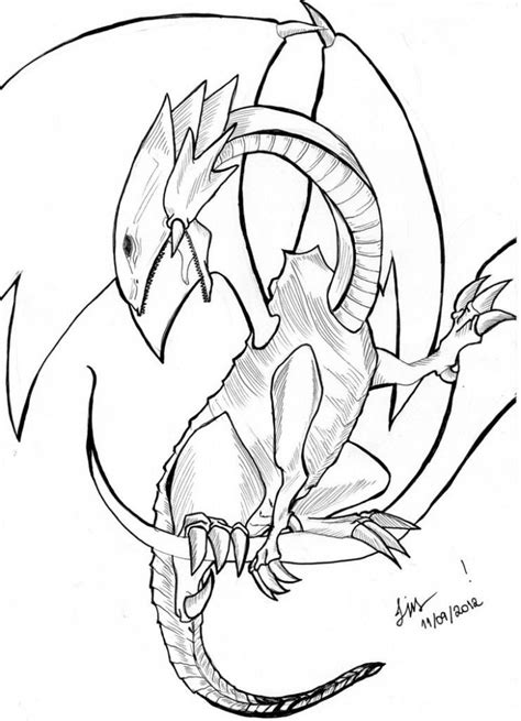 Free Printable Dragon Coloring Pages For Kids Dragon