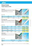 Alfer Fliesen Profile by Treppen System Profile In Alfer Fliesen Profile Elnas