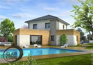 Maison En L Moderne : maisons clair logis verpilli re adresse t l phone ~ Melissatoandfro.com Idées de Décoration