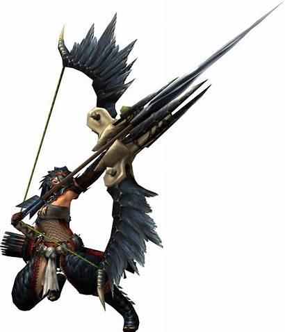 Hunter Bow Monster Guide Fantasy Nargacuga Armor