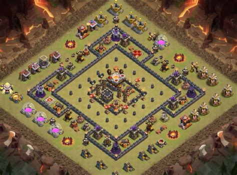 9 epic th9 war base 10 epic th9 war bases anti everything 2017 bomb tower 9 ep