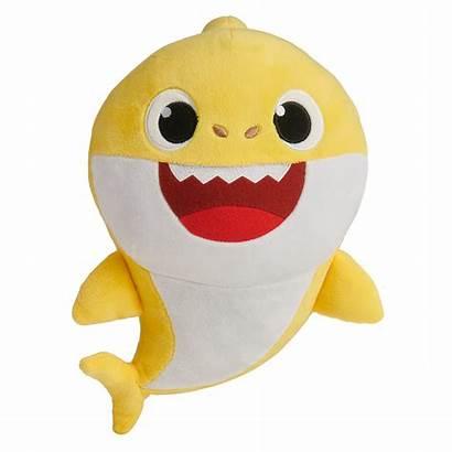Shark Pinkfong Yellow Song Doll Plush Babyshark