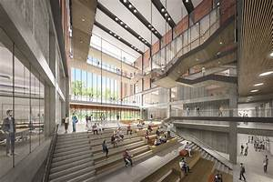 Perkinswill unveils building for the university of for Interior design school toronto