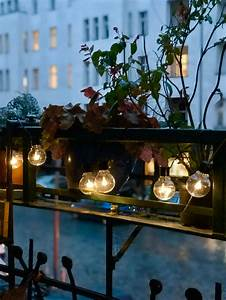 Lichterkette Balkon Sommer : lichterkette bilder ideen couch ~ A.2002-acura-tl-radio.info Haus und Dekorationen