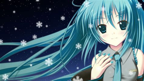 Anime Wallpaper Blue by Wallpaper Blue Hair Anime 1920x1200 Hd Picture Image