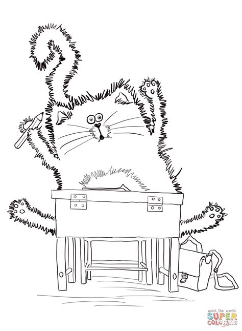 Splat The Cat Template by Pete The Cat Coloring Pages Coloring Pages