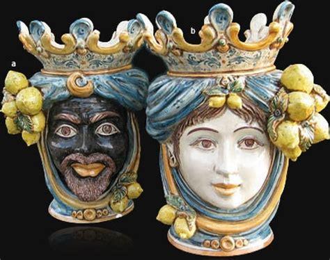 lade di ceramica the legend sicilian ceramic heads experience taormina