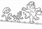 Coloring Tight Tightrope Wire Template Walkers sketch template