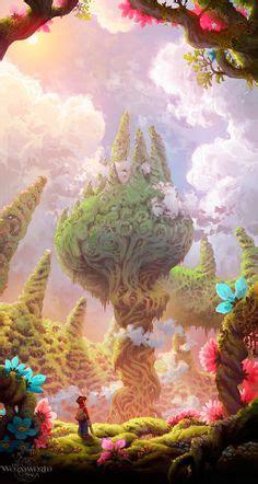 fantasy forest scene images   fantasy
