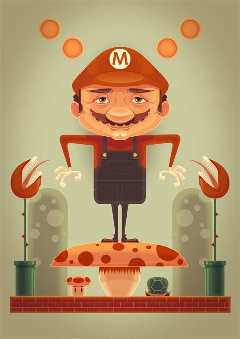 nintendo inspired illustrations  nes art show geektyrant