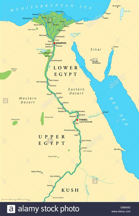ancient egypt map historical map  ancient egypt