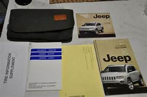 2011 Jeep Compass Owners Manual User Guide W   Case