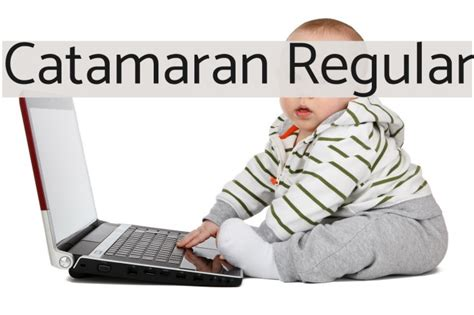 Catamaran Font by Catamaran Regular Font