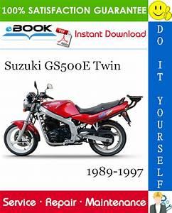 Best  U2606 U2606 Suzuki Gs500e Twin Motorcycle Service Repair