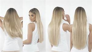 Beauty Works Clip-in Hair Extension Length Guide