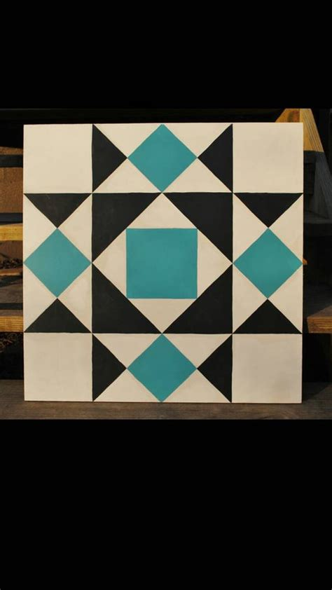 wooden gate quilts garden gate 2 x 2 barn quilt square painted on