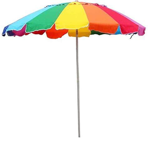 umbrella rainbow includes carry bag 8 foot rainbow
