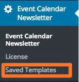 mailchimp calendar template - adding your events automatically to a mailchimp campaign