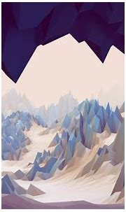 low Poly, Cave, Abstract, 3D, Mountain, Rock, Landscape ...