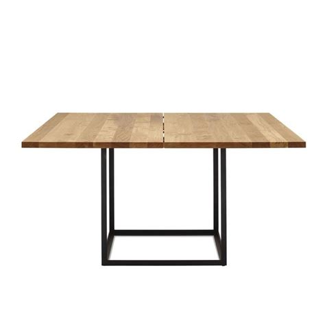 square dining table with leaf extension dk3 jewel table square extension leaf only by soren
