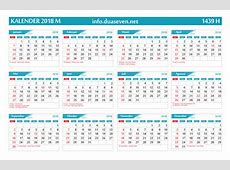 Download Kalender 2018 Pdf Lengkap Hijriyah Dan Jawa