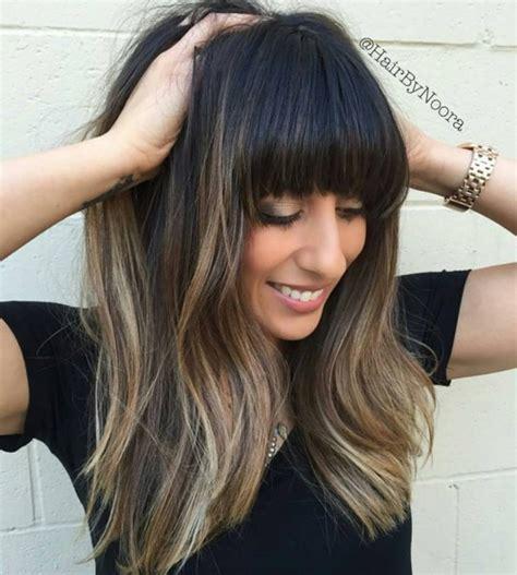 super fresh hairstyles  brown hair  caramel