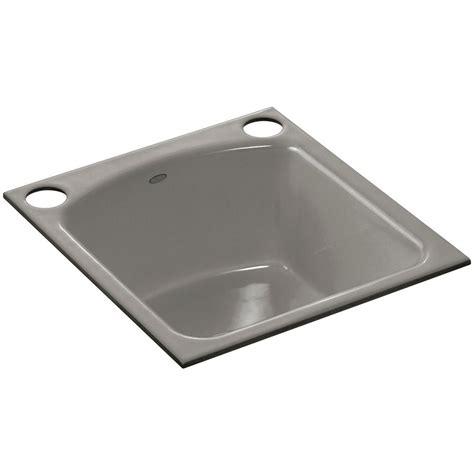 cast iron single bowl kitchen sink kohler napa undermount cast iron 19 in 2 single bowl 9383