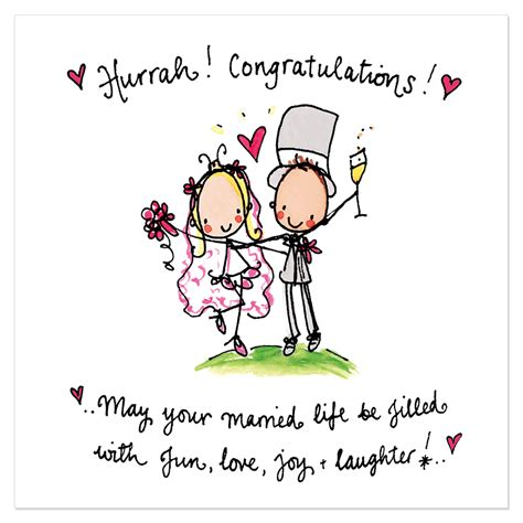 hurrah congratulations   married life juicy lucy designs celebrations
