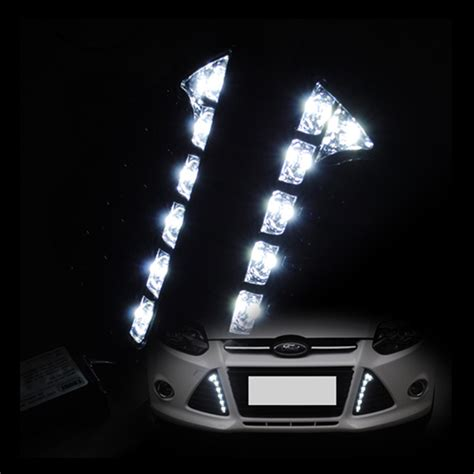 car drl daytime running lights 12v led drl daytime running