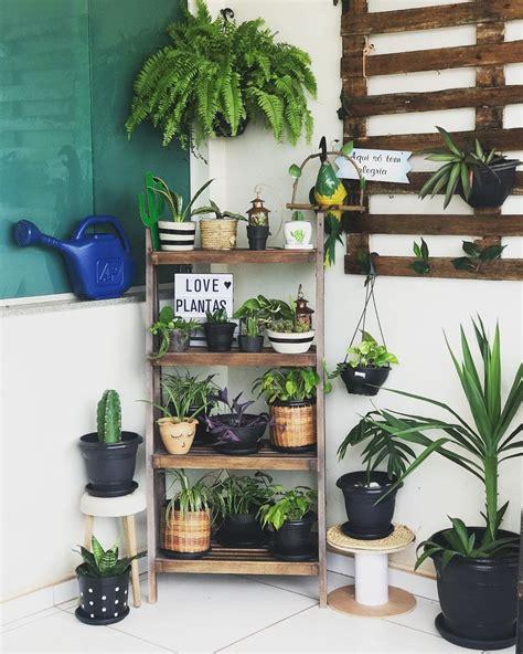Prateleira para plantas: 25 ideias + tutoriais para uma ...