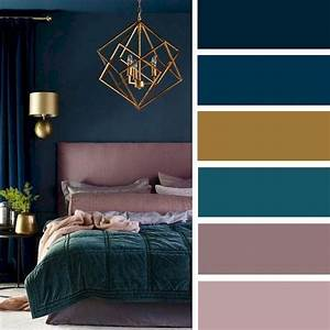 72, Simple, Bedroom, Decorating, Ideas, With, Beautiful, Color