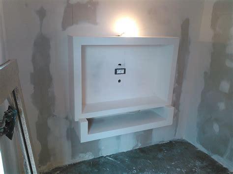 meuble tv suspendu placo ba sebricole with faire un placard en placo