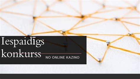 IESPAIDĪGS KONKURSS NO ONLINE KAZINO - YouTube