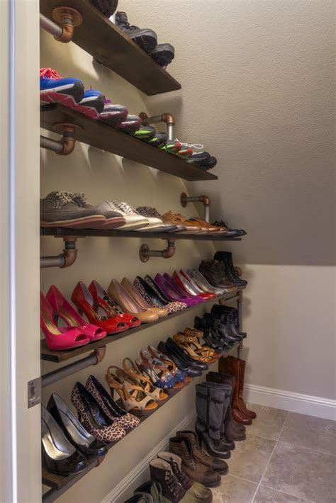 iron pipe shoe rack  steps  pictures