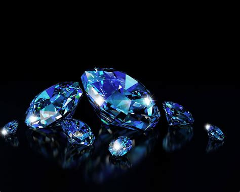 3d Blue Wallpaper by 3d Blue Diamonds Hd 3d And Abstract Wallpapers For