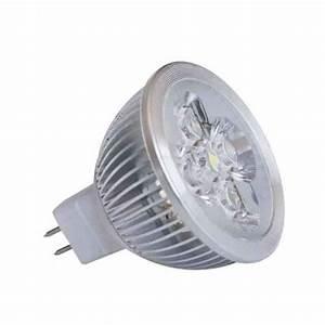 Ampoule Led Gu5 3 : ampoule led gu5 3 12v 4x1w blanc froid achat vente ~ Dailycaller-alerts.com Idées de Décoration