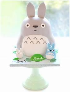 My Neighbor Totoro, Mini Blue and White Totoro Birthday ...