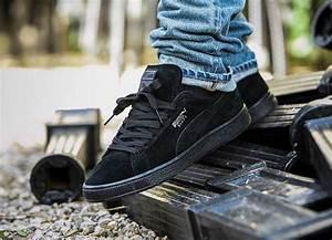 Nettoyer Puma Suede : puma suede classic black dark shadow shoes en 2019 melhores t nis tenis et roupas masculinas ~ Melissatoandfro.com Idées de Décoration
