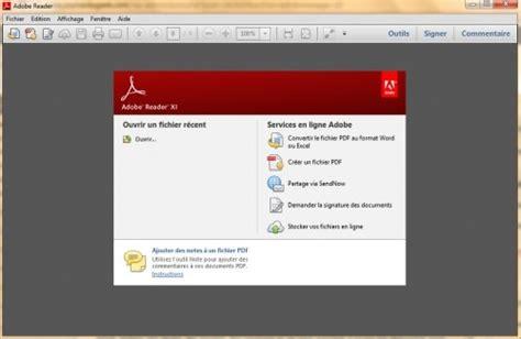 acrobat reader xi telecharger gratuit windows 7