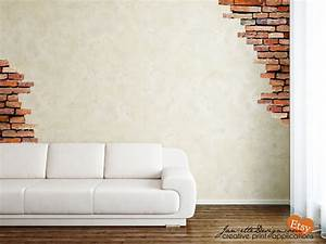 wall decalbrick wall fabric wall decalsbrick wall stickers With brick wall decal